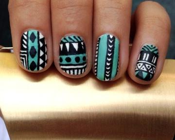 trend alert: aztec print